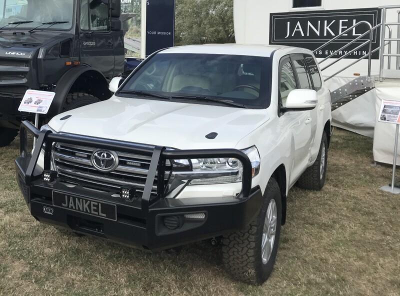 Jankel armoured Toyota Land Cruiser 200