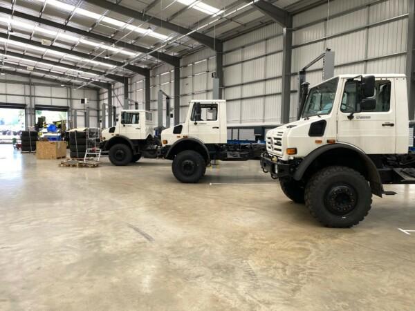 Jankel's Mildands based production line
